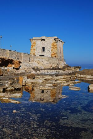 Trapani  Sicily  Ligny tower Editorial