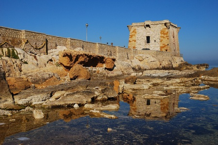 phoenicians: Trapani  Sicily  Ligny tower Editorial