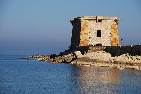 trapani  sicily  Ligny tower