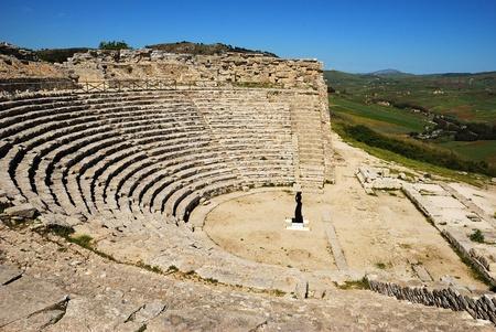 athenians: Segesta  Greek Theatre