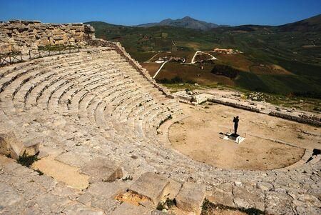 Segesta  Greek Theatre