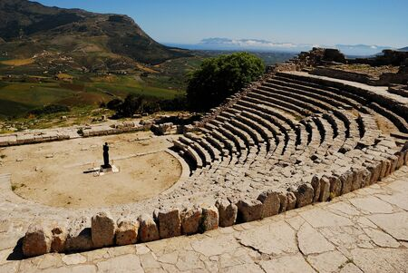crimiso: Segesta  Greek Theatre