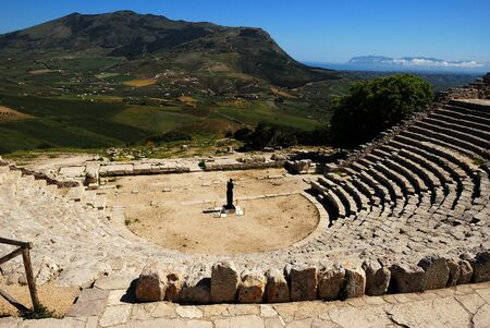 servile: Segesta  Greek Theatre