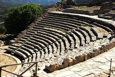 diazoma: Segesta  Greek Theatre