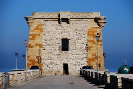 Trapani  Sicily  Ligny tower Stock Photo - 13684360