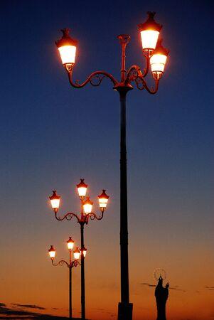 Trapani  sunset Stock Photo - 13684361