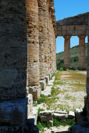 Segesta  Sicily  Greek temple photo