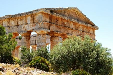 diazoma: Segesta Sicilia tempio greco