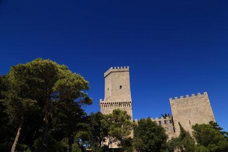 norman castle: Erice (Sicily),  Norman castle