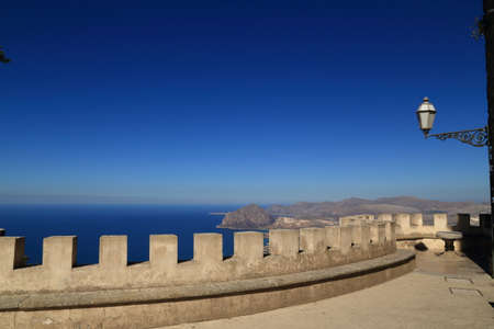 erice: View from Erice (Sicily)