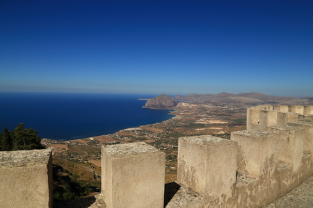 View from Erice (Sicily)