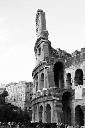 spqr: Roma Coliseo Foto de archivo