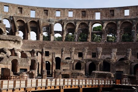 persecution: Rome - The Colosseum Stock Photo