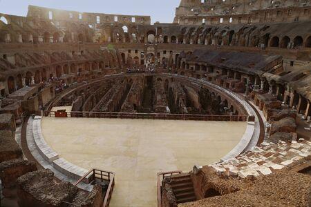 spqr: Roma - El Coliseo Foto de archivo