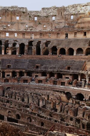 persecution: The Colosseum Rome Stock Photo