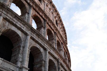 El Coliseo de Roma Foto de archivo