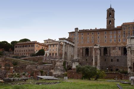 spqr: Roman forum