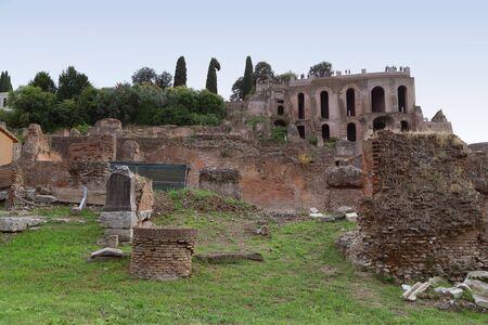 Rome - Roman Forum Stock Photo