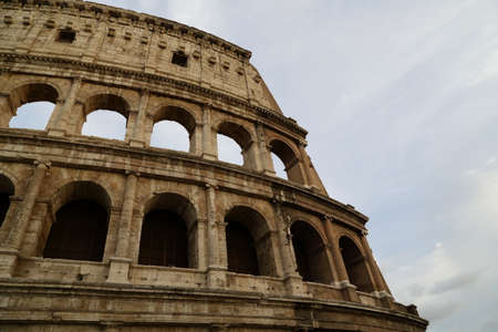 rome - colosseum Stock Photo