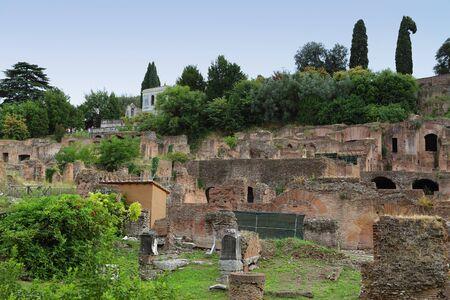 Roma - Foro Imperial Foto de archivo