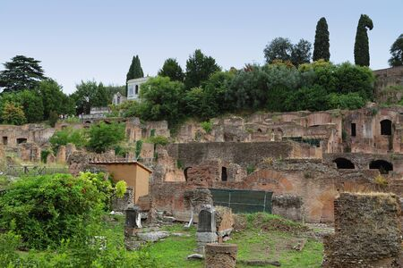 Rome - Imperial Forum Stock Photo