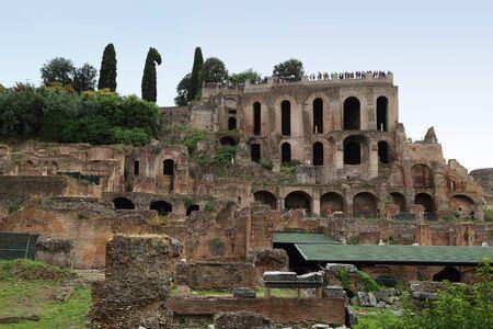 Rome - Imperial Forum Stock Photo
