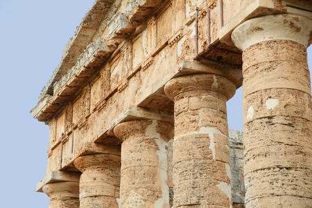 alcamo: Segesta (Sicily) Stock Photo
