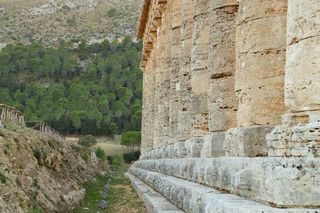 dori: Segesta (Sicily) Stock Photo