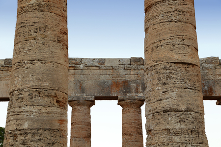 virgil: Segesta (Sicily) Stock Photo