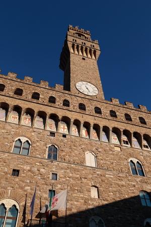 Florence - Italy Palazzo Vecchio Editöryel