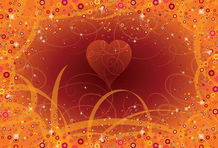 hintergrund liebe: Hintergrund Schn�rkel Liebe und Magie