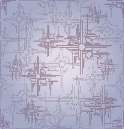 lments graphiques: Contexte D�cor technologie. �l�ments graphiques abstraits pour la conception Illustration