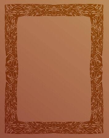 celt: Frame pattern Celt Backgrounds Ornate Retro Antique