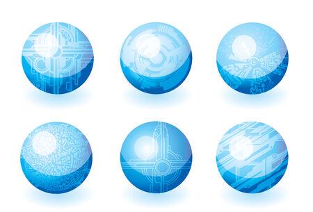 lments graphiques: �l�ments graphiques abstraits pour la conception Illustration