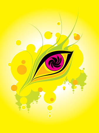 hallucination: Eye dream graphics abstraction hallucination