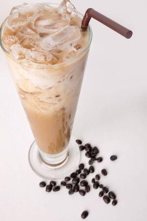 koffie latte Stockfoto