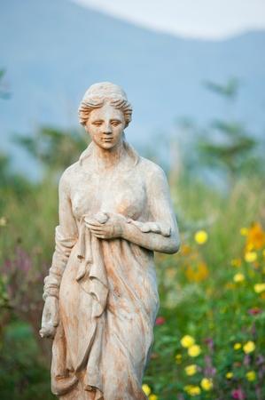 Garden Sculpture 01 Stock Photo
