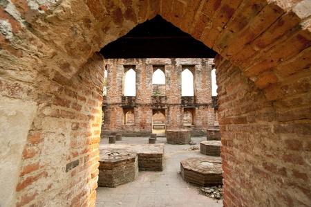 Ayutthaya temple Historic site
