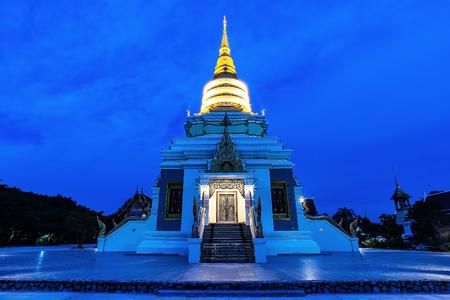 Golden Pagode Temple Touristenattraktion in Pattaya Thailand Standard-Bild - 92032442
