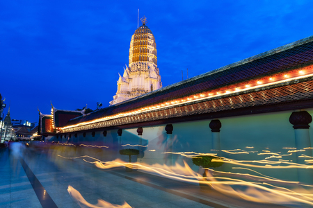 The temple's prang Phra Si Rattana Mahathat is a Buddhist temple (wat) Pagoda and major tourist attractions in Phitsanulok ,Thailand.
