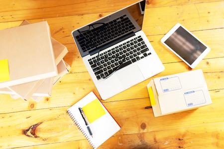 Working Desk Online Business. business online.