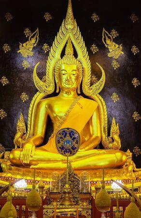 PhitsanulokThailand - 27,december, 2019. Phra Buddha Chinnarat The most beautiful Buddha in the world Editorial