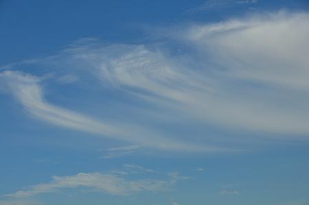 characteristics: characteristics of the cloud on sky Stock Photo