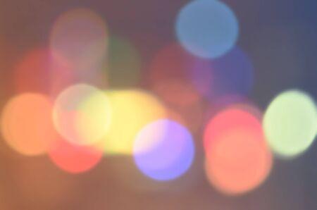 city light: Night urban bokeh city light abstract background. Stock Photo