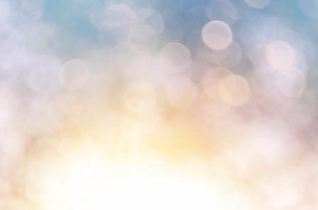 ボケ太陽光葉自然の抽象的な背景。レトロなカラー スタイル