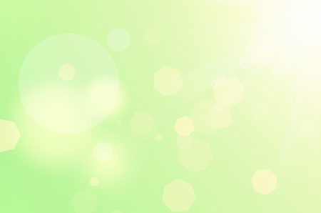 green texture: Colorful bokeh sun light abstract texture background.