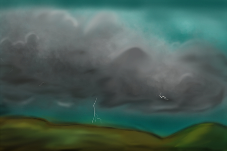 storm sky: Abstract storm sky texture background. Graphic art design. Stock Photo