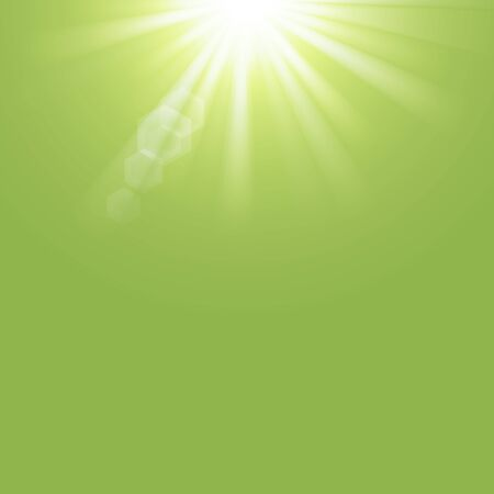 greenery: Greenery color with sun light abstract background. Graphic art design. Stock Photo