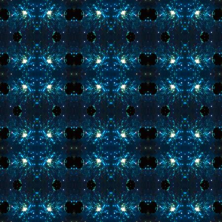 seamlessly: Seamless pattern of light. For eg fabric, wallpaper, wall decorations.