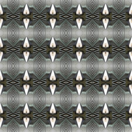 seamlessly: Seamless art pattern. For eg fabric, wallpaper, wall decorations.